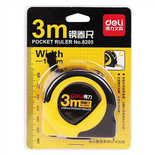 Deli Metal MeasuringTape 3M