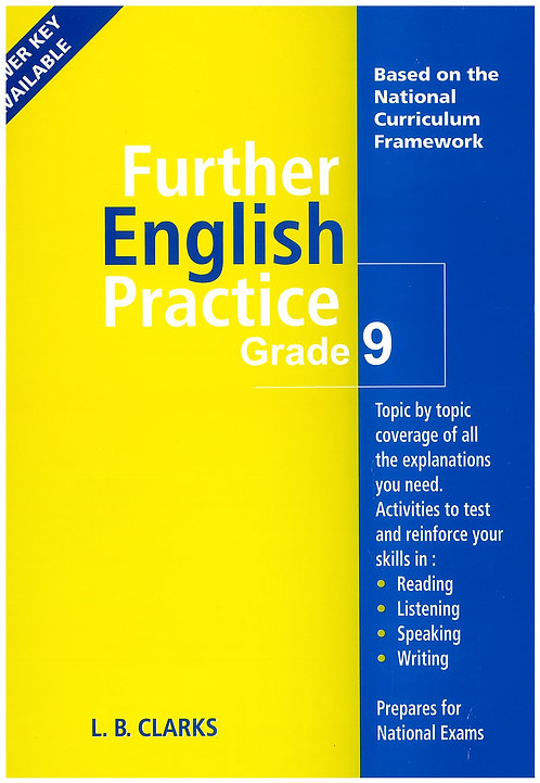 Further EnglishPractice Grade 9 L.B. Clarks