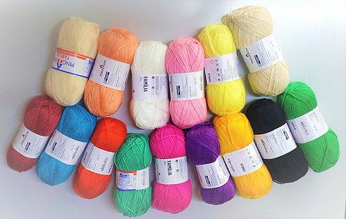 Hand Knitting Yarn Familia 40G