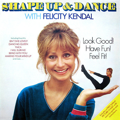 Felicity Kendal & Tightening My Buttocks