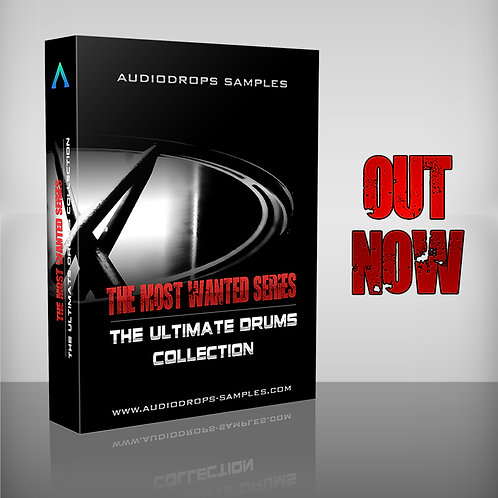 Audiodrops Samples Presents Most Wanted Series : The Ultimate Drum Collection