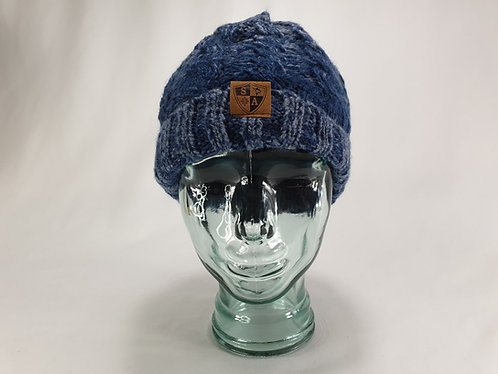 Infusion Navy Blue Wooly Beanie