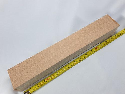 Beech Woodturning Blanks 63x63x405mm