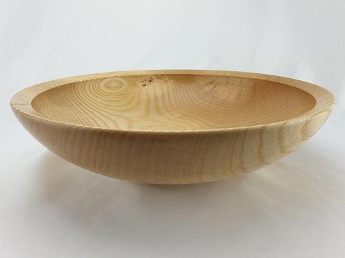 Food-Safe bowl in Tralee Ash Medium-Large-Low Profile