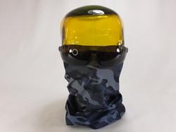 Grey Military Face Shield