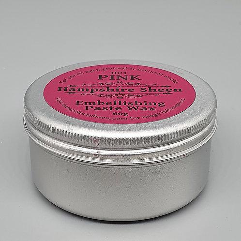 Hampshire Sheen Hot Pink Embellishing Wax 60g