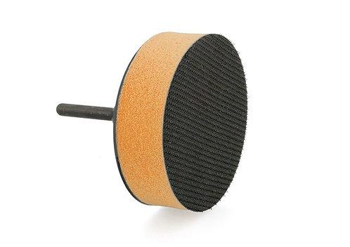 "Flexipads 75mm (3"") GRIP Soft 6mm Spindle Pad 48215"