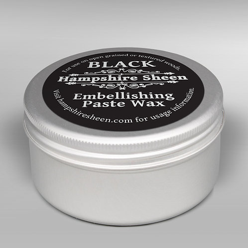 Hampshire Sheen Black Embellishing Wax 60g
