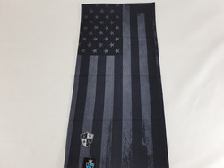 Blackout American Flag Face Shield