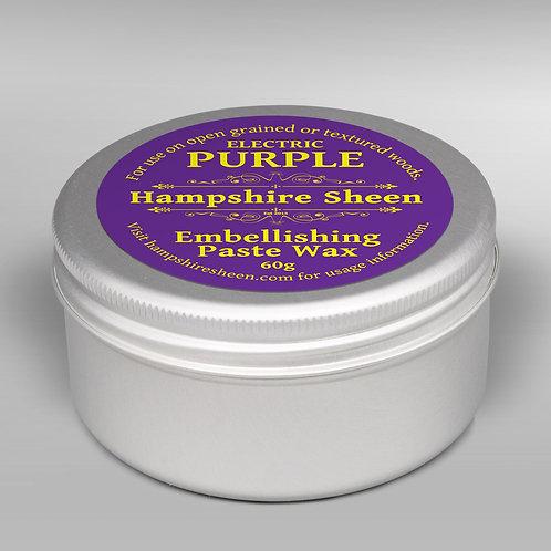 Hampshire Sheen Electric Purple Embellishing Wax 60g