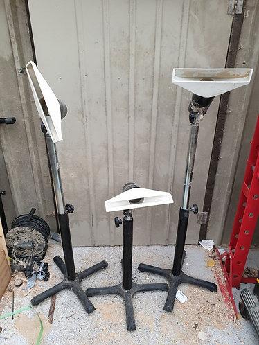 Adjustable Dust Extractor Floor Stands with Hood