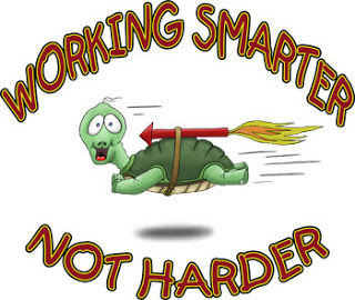 Funny-Cartoon-Turtle-Work-Smarter-not-Ha