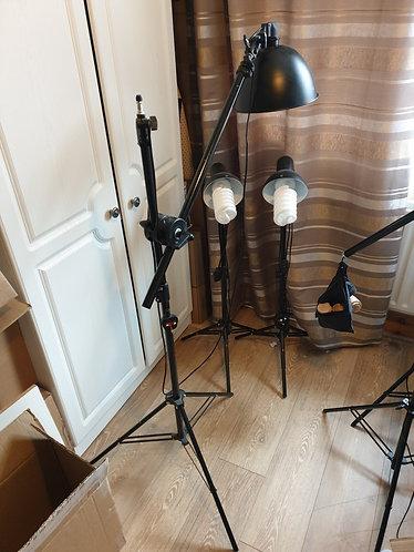 Photography Lighting Equipment 3 Pieces