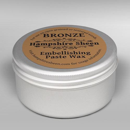 Hampshire Sheen Bronze Embellishing Wax 60g