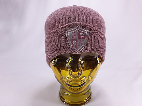 Pink Shimmer Beanie 1 only deal
