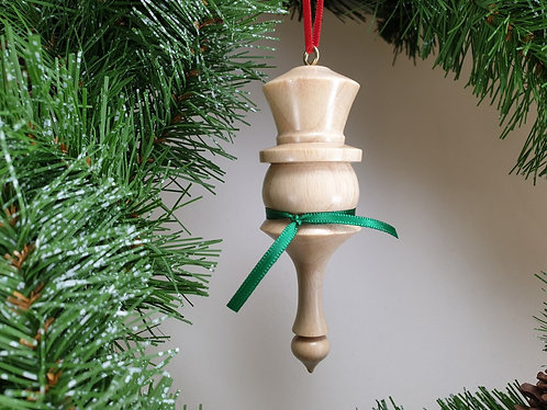 Hanging Ornament in Ash with free organza gift bag