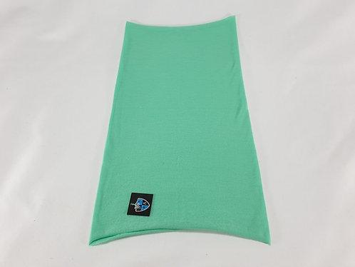 Kids Plain Light Green Face Shield