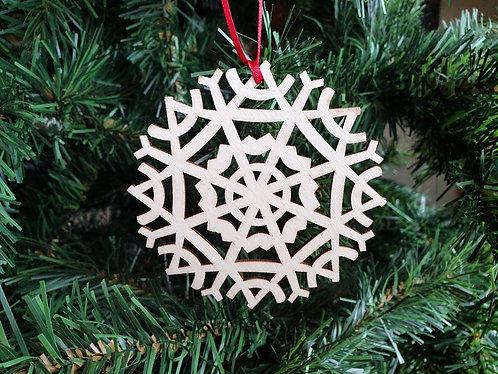 Large Wood Laser Cut Christmas Tree Decorations