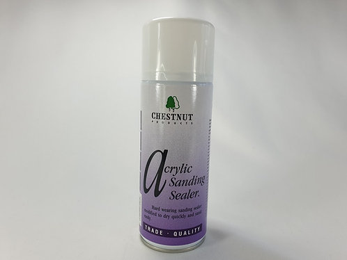Chestnut Acrylic Sanding Sealer Spray Can 400ml