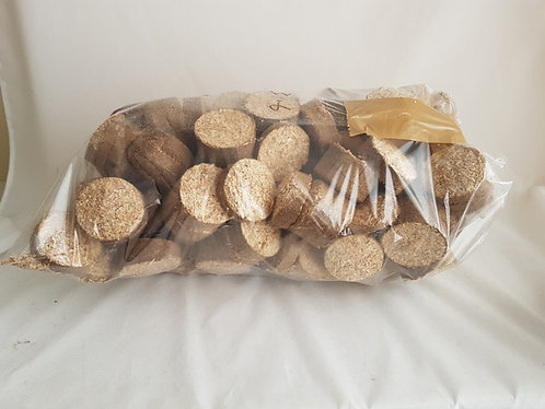 Eco-Friendly Hardwood Sawdust Briquettes 1x 3KG+ Bag