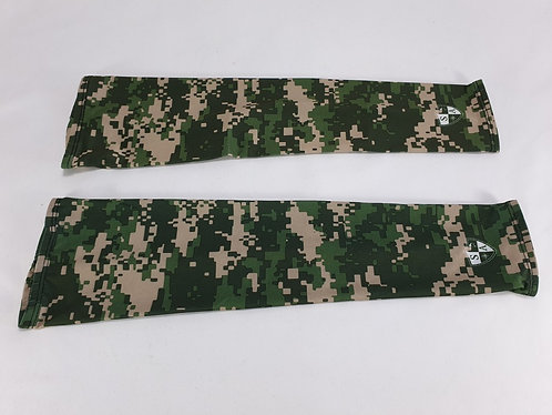 Green Digi Camo Pair of Arm Sleeves