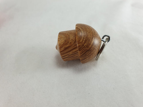 Keyring in Evergreen Oak with gift bag