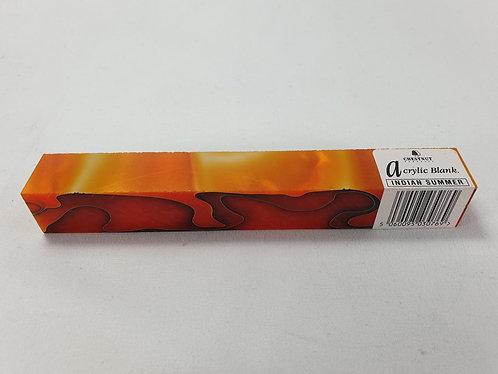 Indian Summer Acrylic Pen Blank