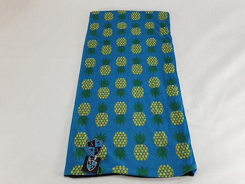 Pineapple Turquoise Thermal Face Shield