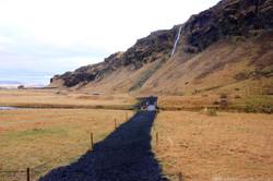 Near Seljalandsfoss waterfall