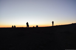 Sunset at 10000ft
