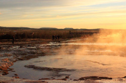 Hot springs at Golden Circle