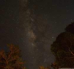 Milky way above our camps!