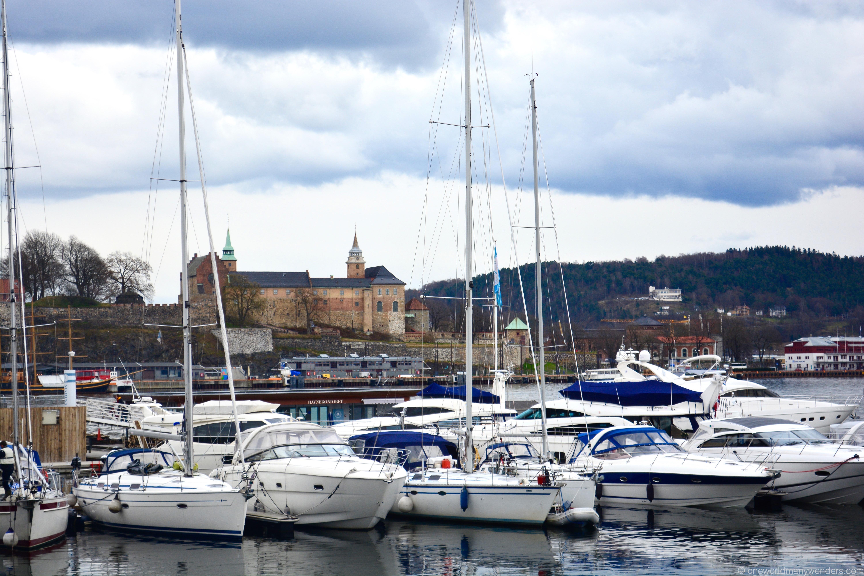 Oslo city - Aker Brygge area