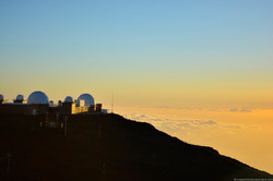Sunset at Haleakalā National Park