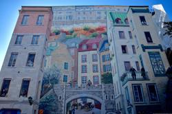 Quebec city graffiti
