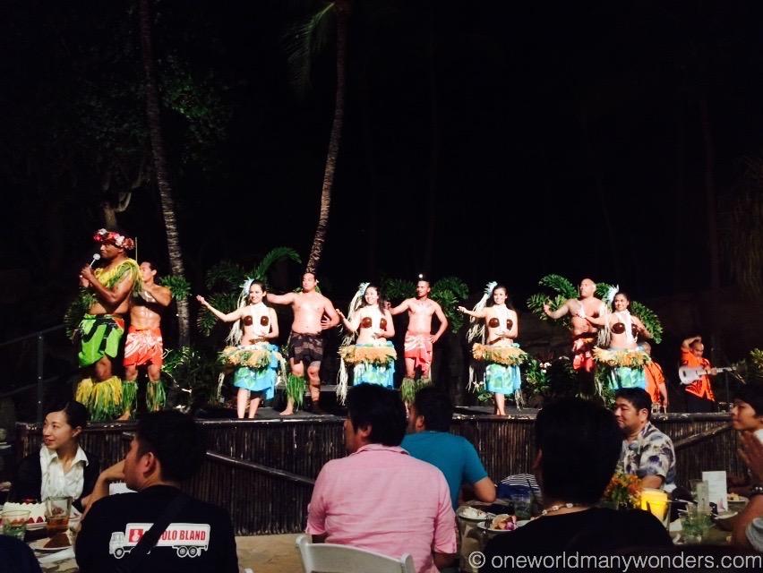 Luau show at Westin, Maui