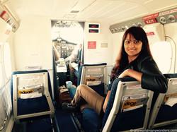 Our flight to Masai Mara