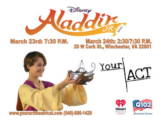 Boyd to Produce Aladdin Jr. at Your ACT Theatrical Co.