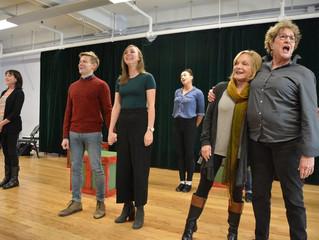 Broadway World: Go Inside Rehearsal for KRIS KRINGLE THE MUSICAL!