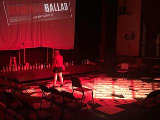 Boyd opens Murder Ballad a new musical
