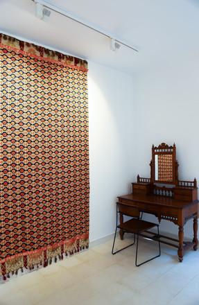 Not Your Harem Girl (2018), Farwa Moledina, Lahore Biennale: A Rich Tapestry, Aisha Khalid Studios, January 2020