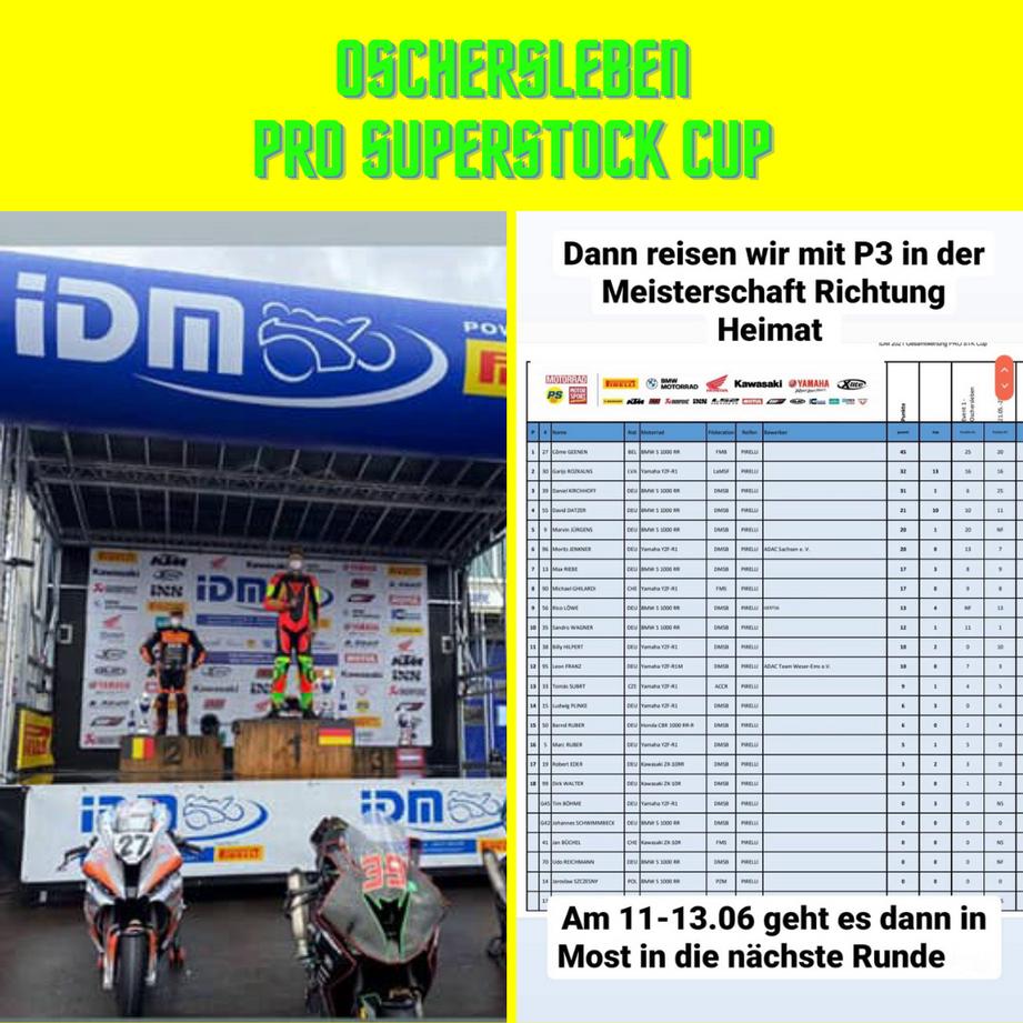 #DK39 Pro Superstock Cup Oschersleben