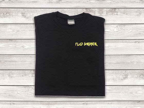 """T - Shirt """"Flo Gruber"""" scharz"""