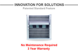 Turbo Air's Patented Self Cleaning Condenser