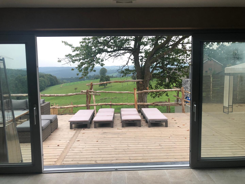 L'accès terrasse