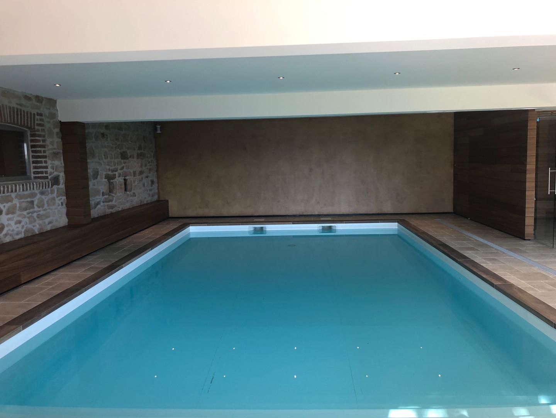 La piscine privée & chauffée