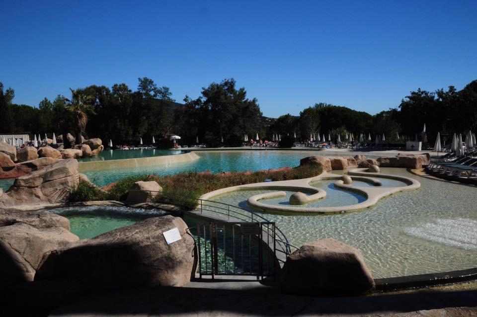 Les piscines du domaine