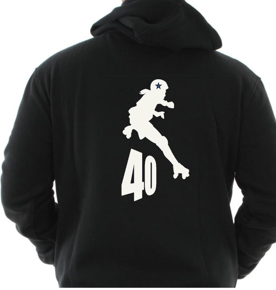 Large Logo on Back Hoodie