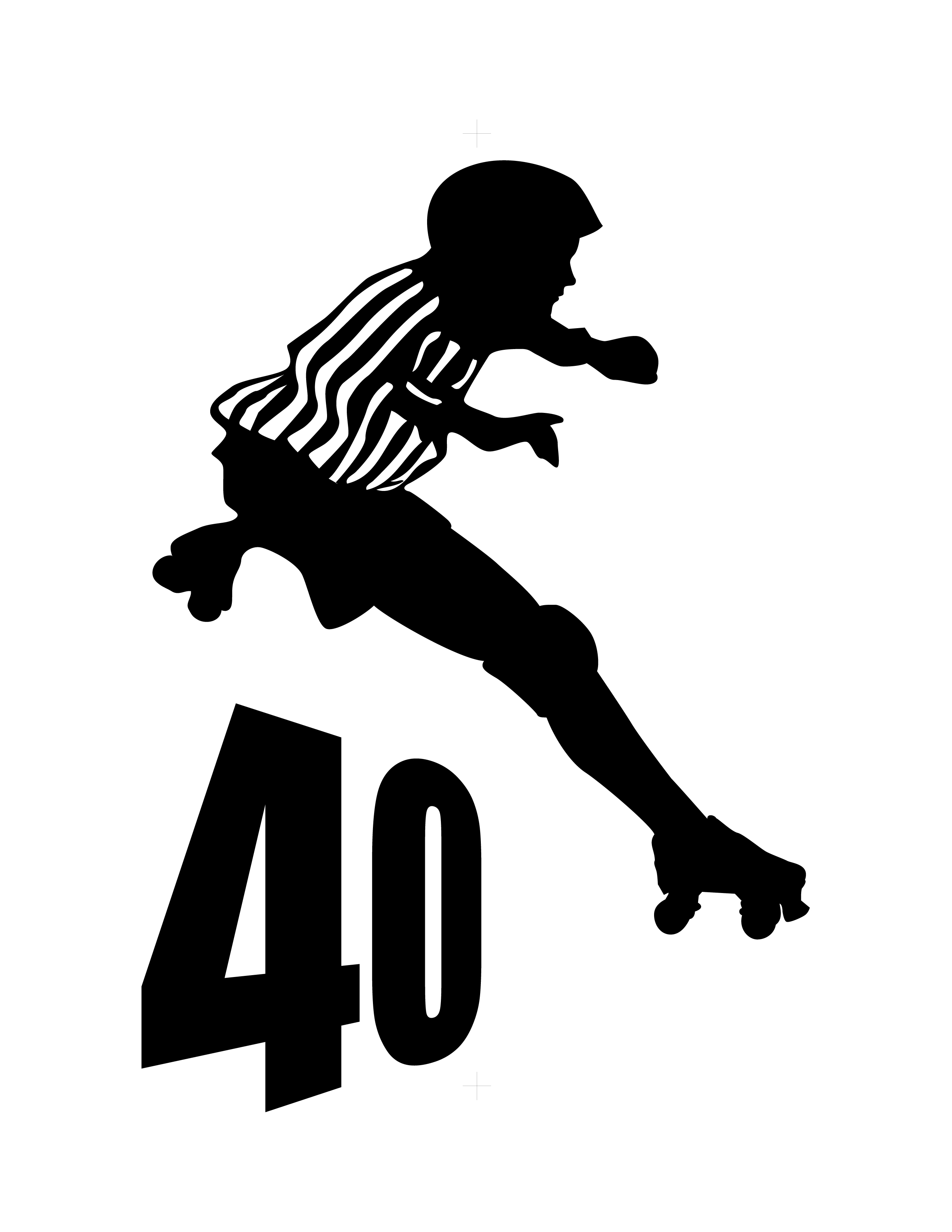 Zebra over 40