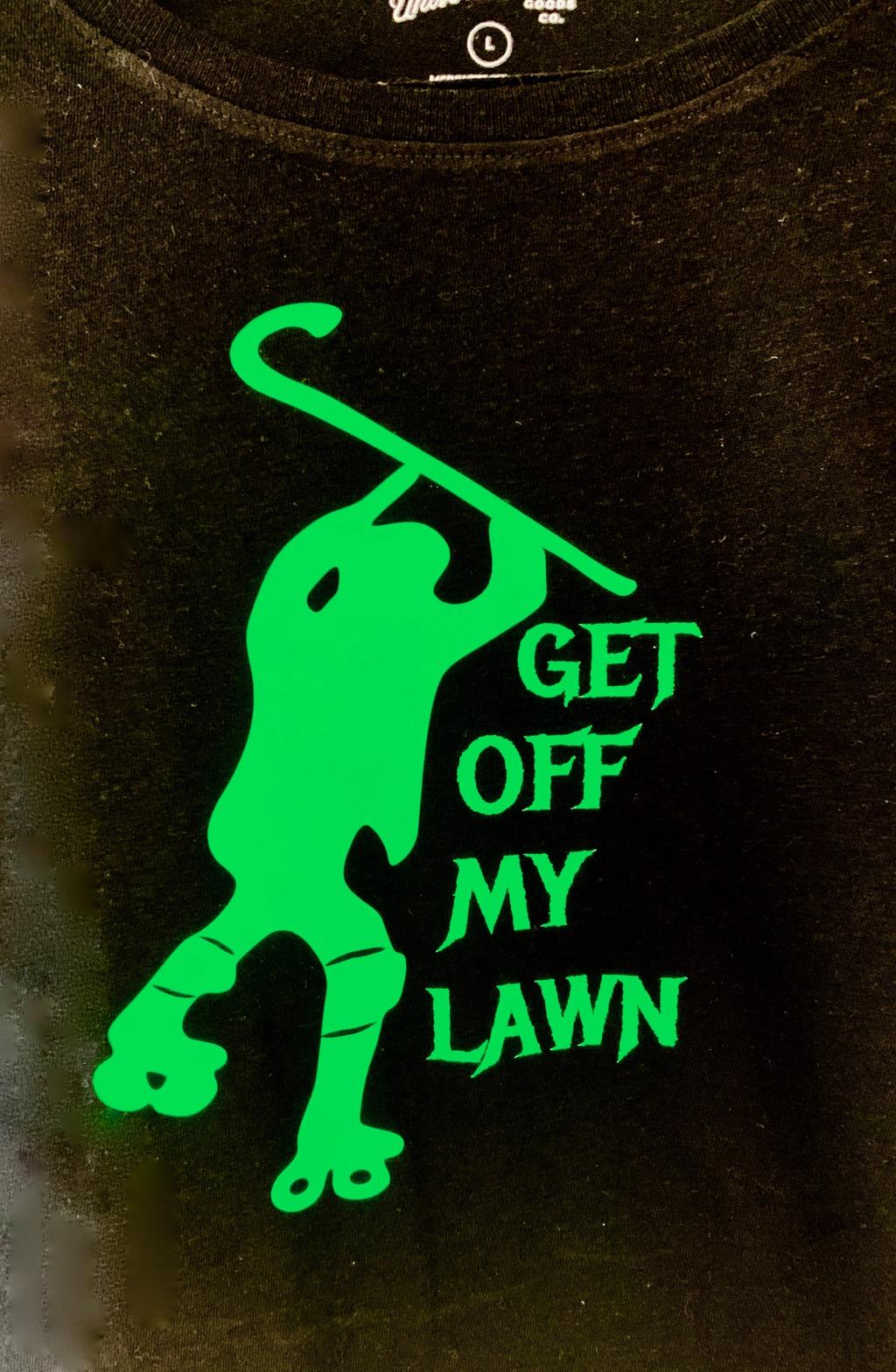 GET OFF MY LAWN -cane